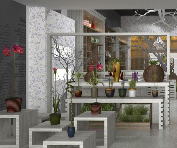 Flower Design Shop: Studio 7even Interior Design